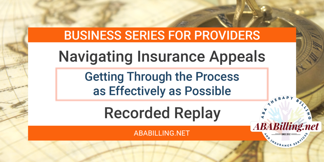 Webinar: Navigating Insurance Appeals